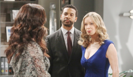 Katie asks Justin, Donna to forgive Flo Bold and Beautiful