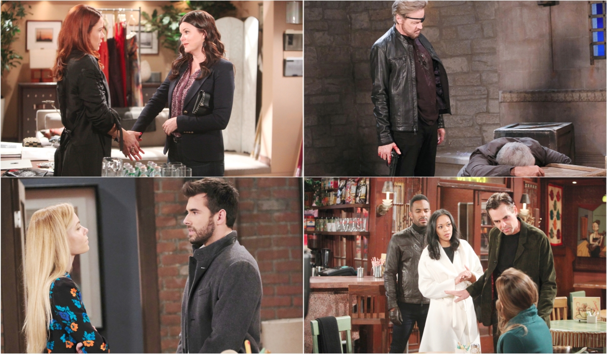 2-3-20 spoilers for bold and beautiful days of our lives general hospital young and restless