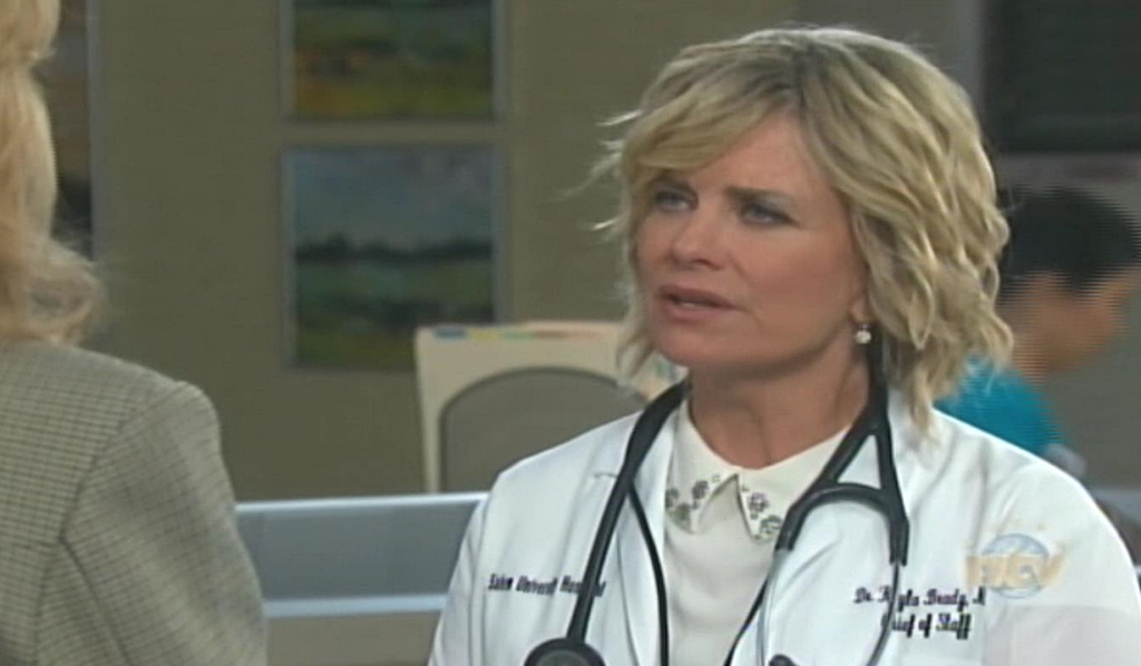 Kayla and Marlena discuss Steve Days of our Lives