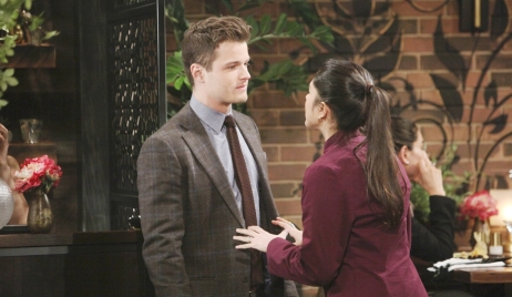 Kyle and Lola tension Young and Restless