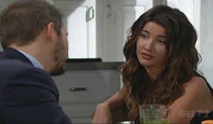 Liam and Steffy discuss Thomas Bold and Beautiful