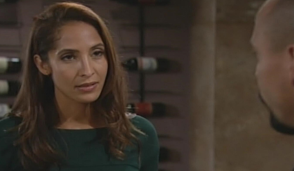 Lily questions Devon Young and Restless
