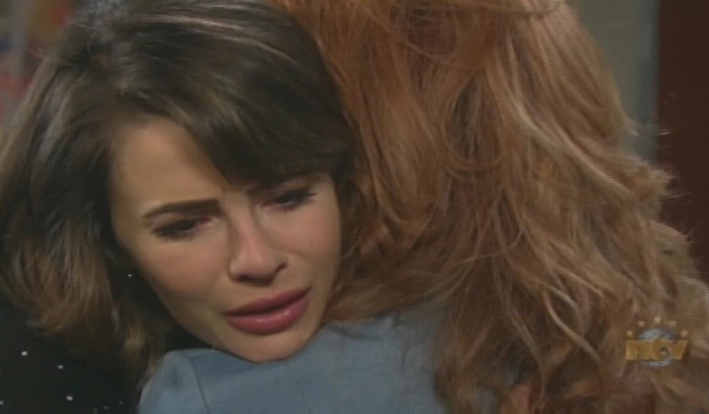 Maggie embraces Sarah Days of our Lives