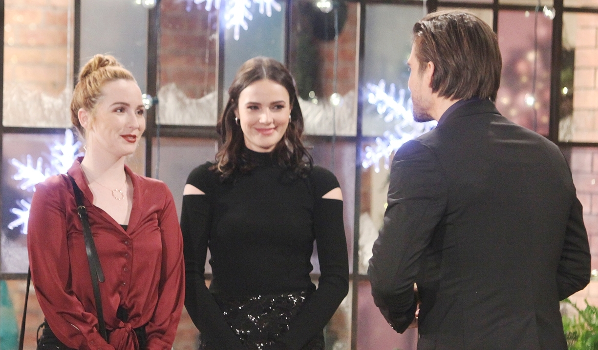 Mariah Tessa Theo drama ahead Young and Restless