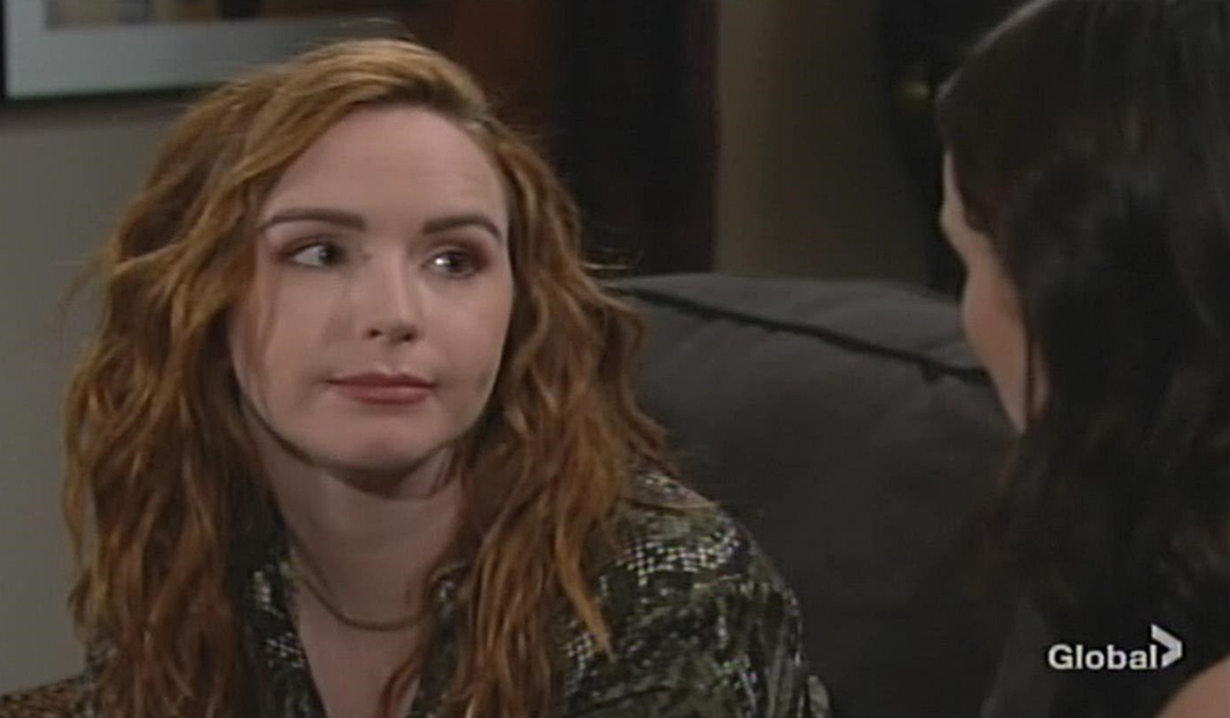 Mariah questions Tessa Young and Restless