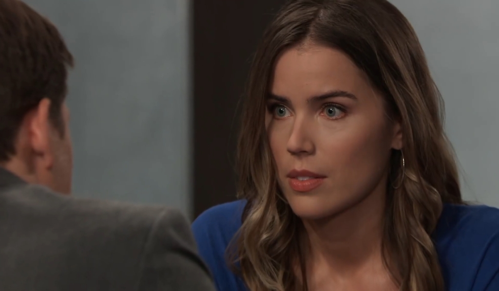 Michael asks Sasha to move with him General Hospital
