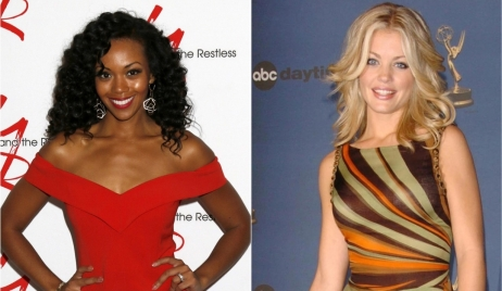 Mishael Morgan Bree Williamson A Killer in My Home Young and Restless