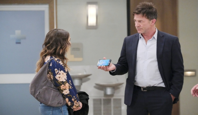 Neil questions Molly at General Hospital