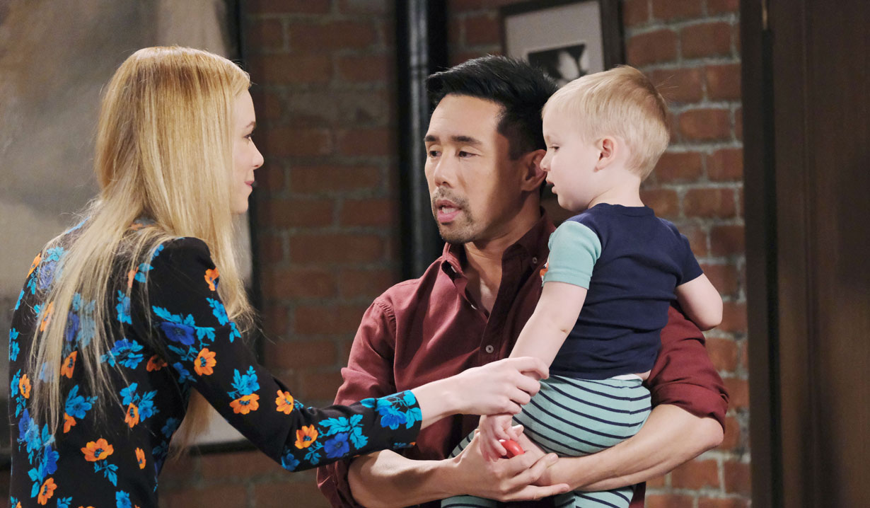 Nelle wants to hold Wiley on General Hospital
