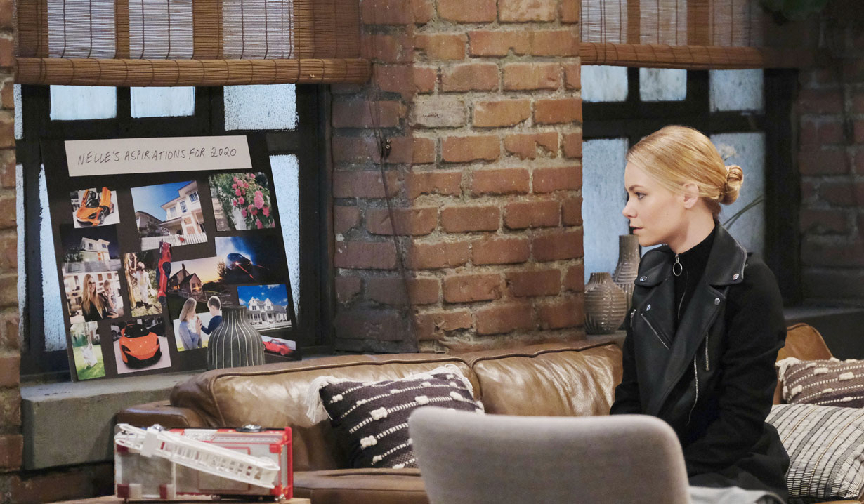Nelle's 2020 aspirations on General Hospital