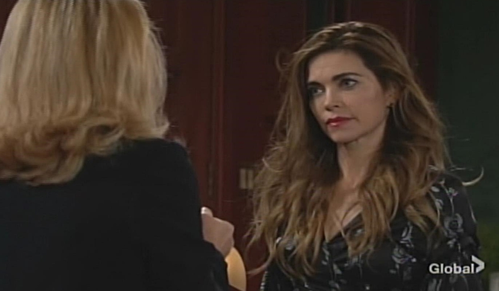 Nikki gives Victoria advice Young and Restless