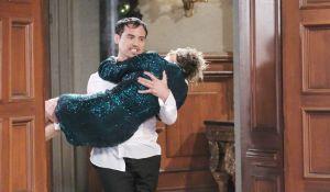 Nikolas carries Ava into wedding General Hospital