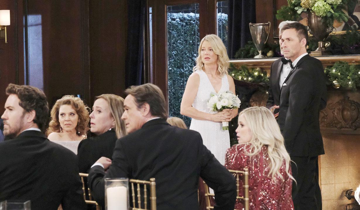 Nina and Valentin's second wedding on General Hospital crashed