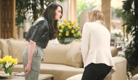 Quinn slaps Brooke Bold and Beautiful