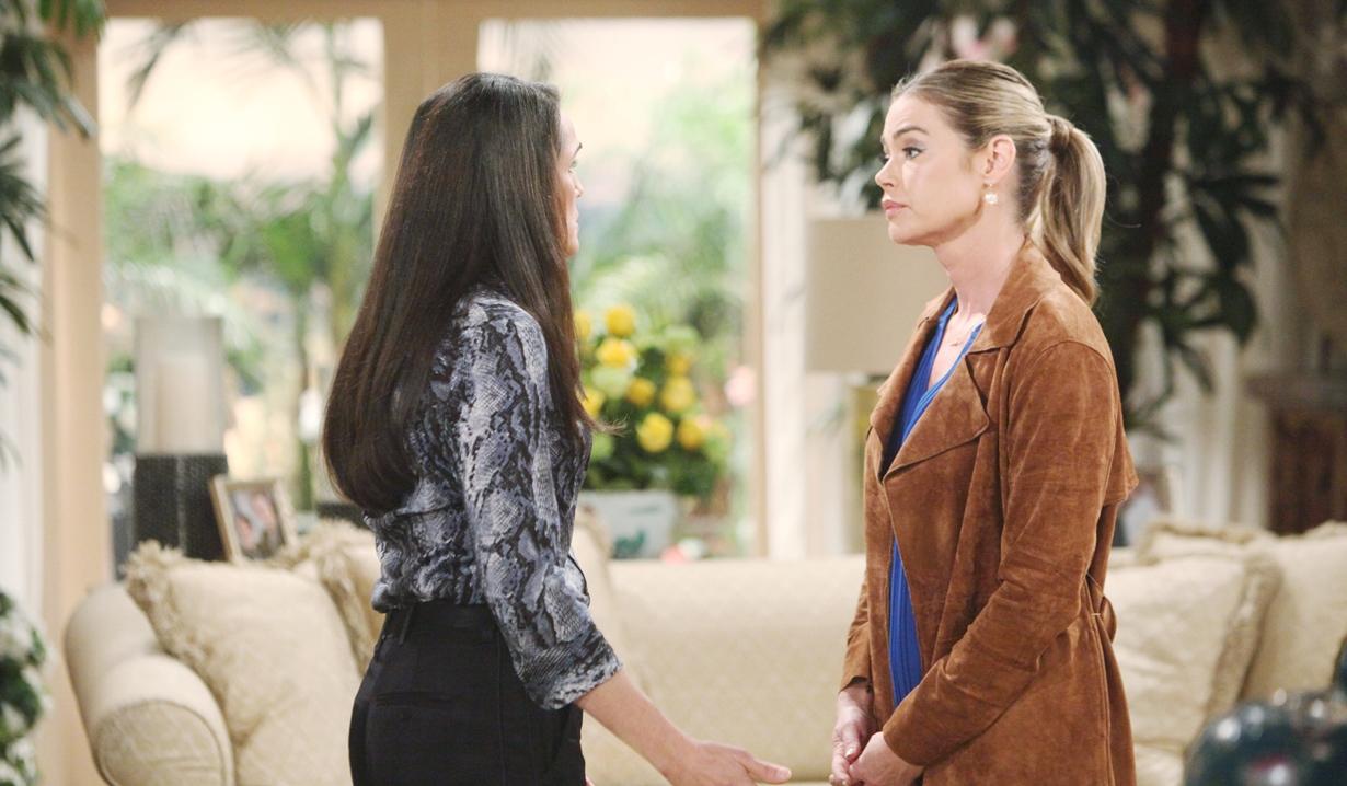Quinn gives Shauna news Bold and Beautiful