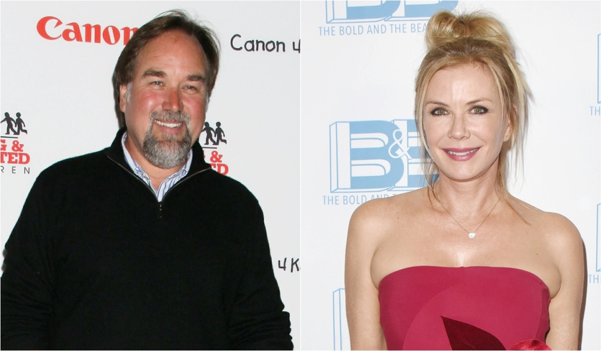 Richard Karn, Katherine Kelly Lang Christmas Dance Bold and Beautiful