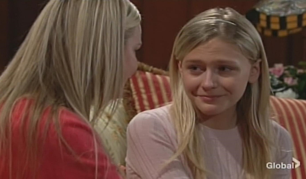 Sharon reassures guilty Faith Young and Restless