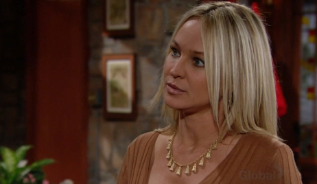 Sharon tells Rey she has cancer Young and Restless