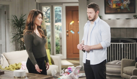 Liam makes a confession to Steffy Bold and Beautiful
