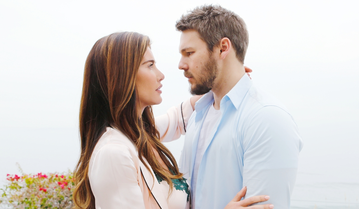 Steffy and Liam embrace Bold and Beautiful