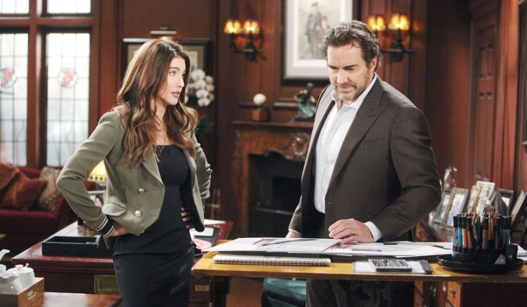 Steffy shows Ridge designs Bold and Beautiful