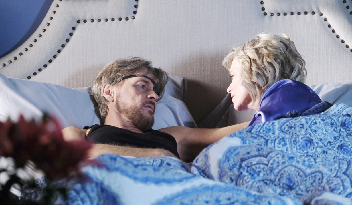 Steve and Kayla bed dream Days of our Lives