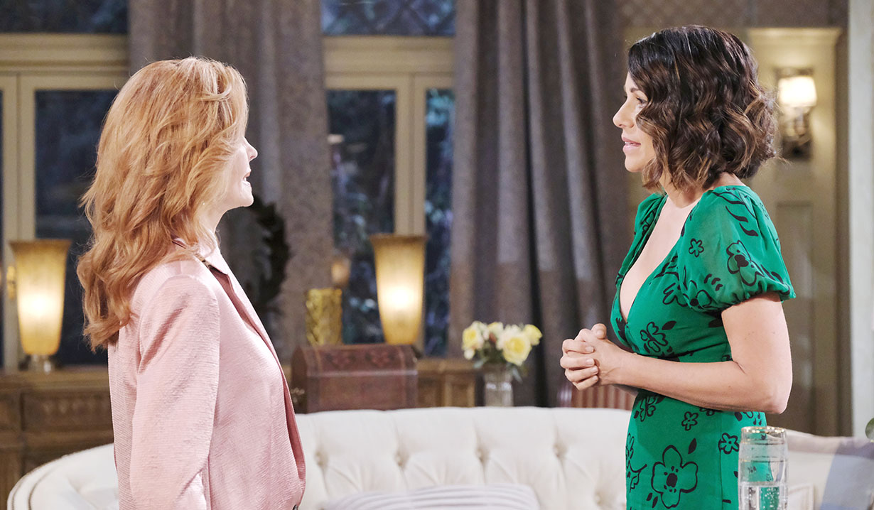 maggie talks to summer days of our lives
