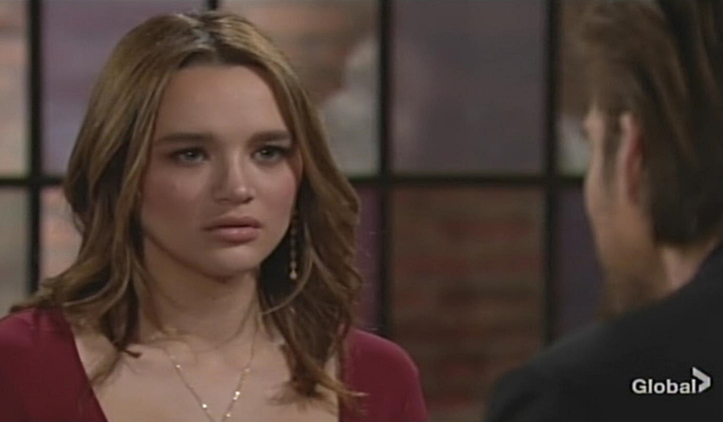 Summer warns Theo Young and Restless