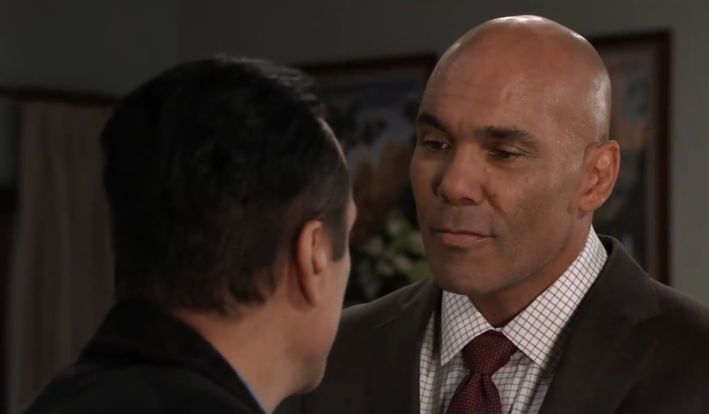 Taggert returns and faces Sonny General Hospital