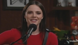 Tessa perform New Year's Eve Young and Restless