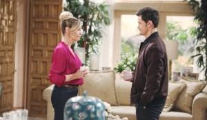 Thomas visits Shauna Bold and Beautiful