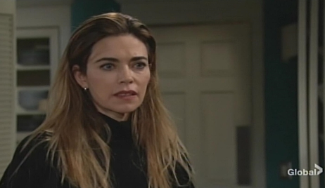 Victoria concerned Young and Restless