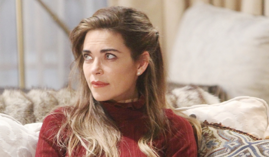 Victoria confronts Amanda Young and Restless