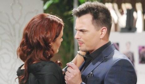 Wyatt breaks news Sally Bold and Beautiful