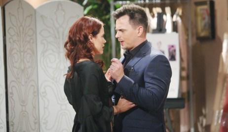 Wyatt turns Sally down Bold and Beautiful