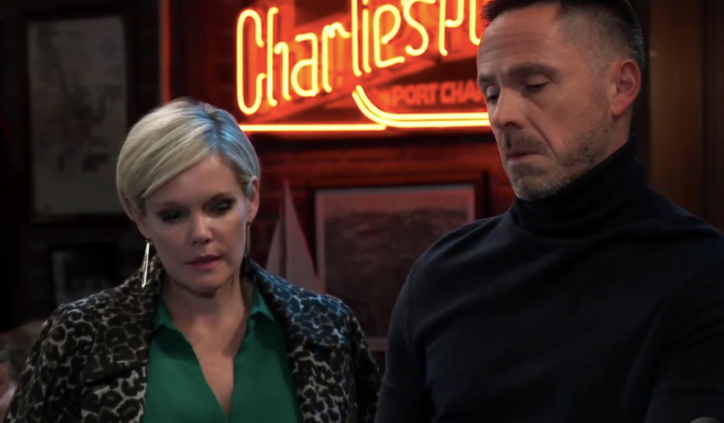 Ava tells Julian about her wedding on General Hospital