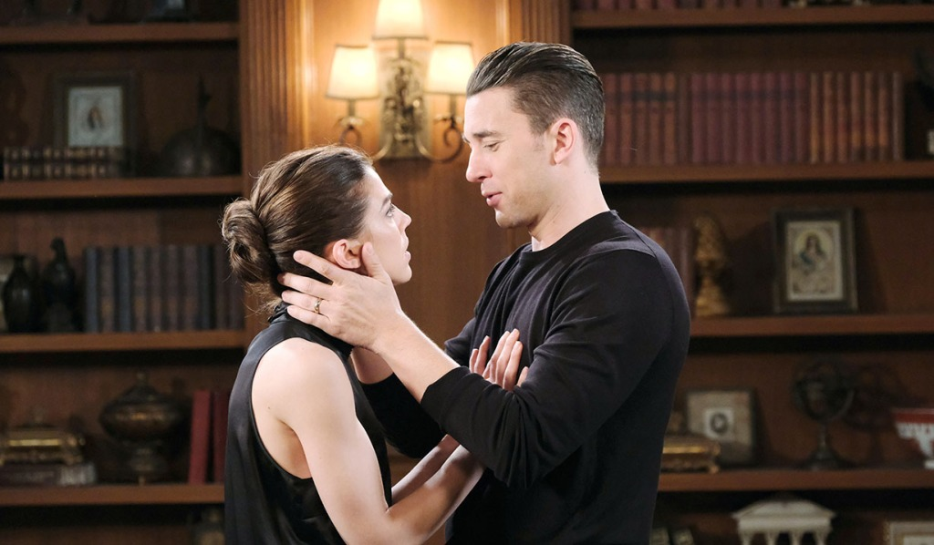 chad and abby talk kristen days of our lives