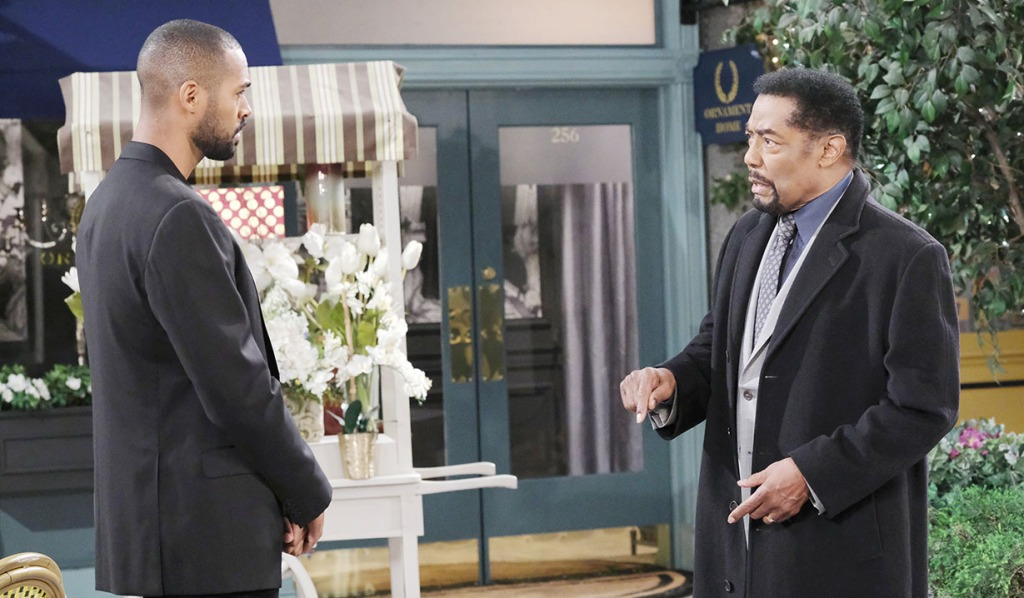 eli and abe talk lani leaving days of our lives