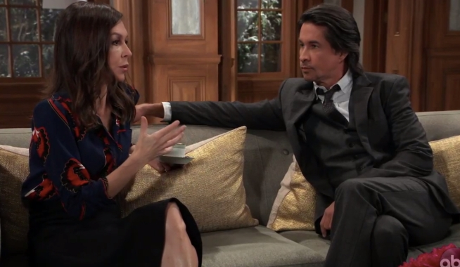 Anna and Finn discuss Peter on General Hospital