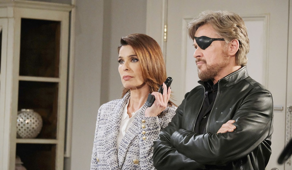 gina gives marlena gun days of our lives