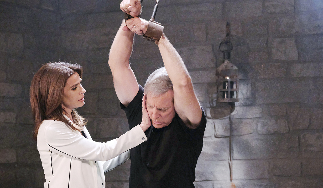 john strung up by gina days of our lives