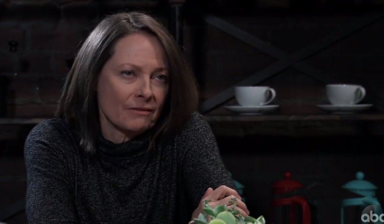Gladys deals with Sonny on General Hospital