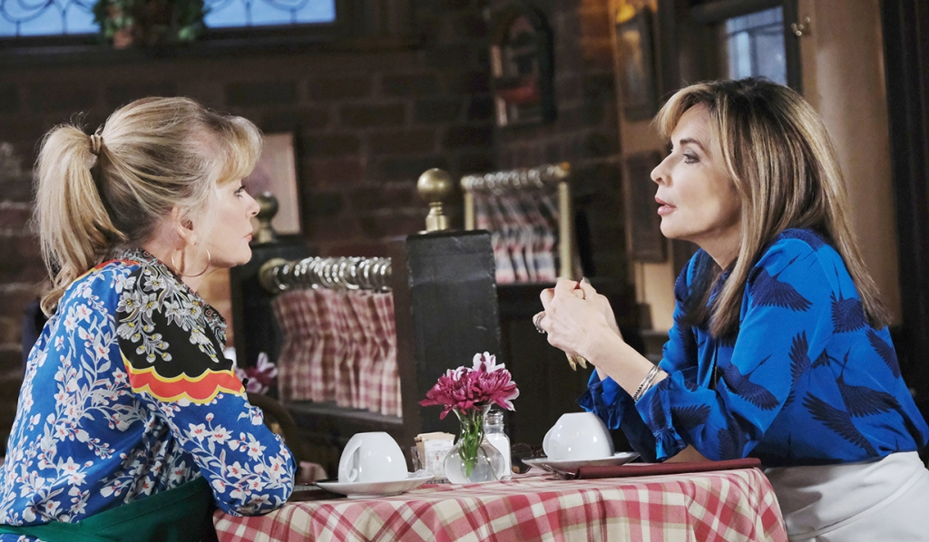 hattie and kate talk stefano days of our lives