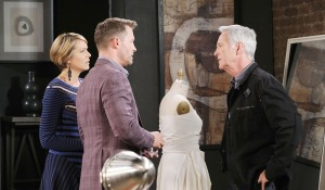 john tells brady victor stroked out days of our lives