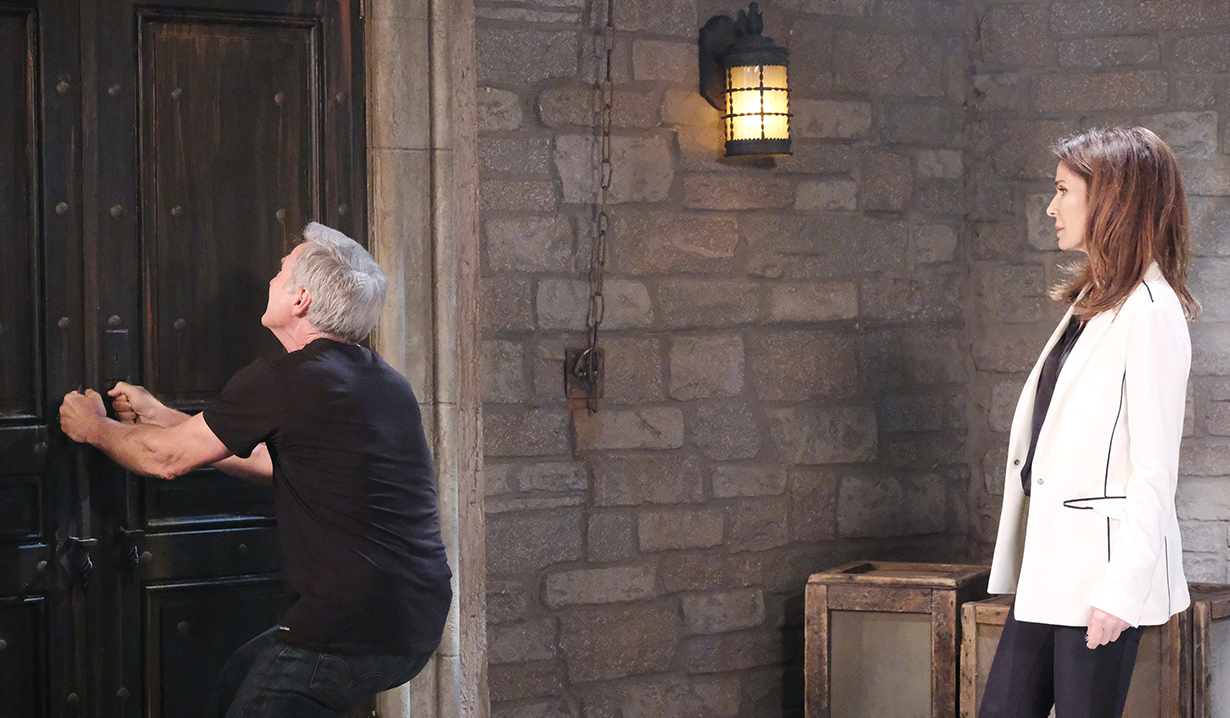 john tries to escape gina days of our lives