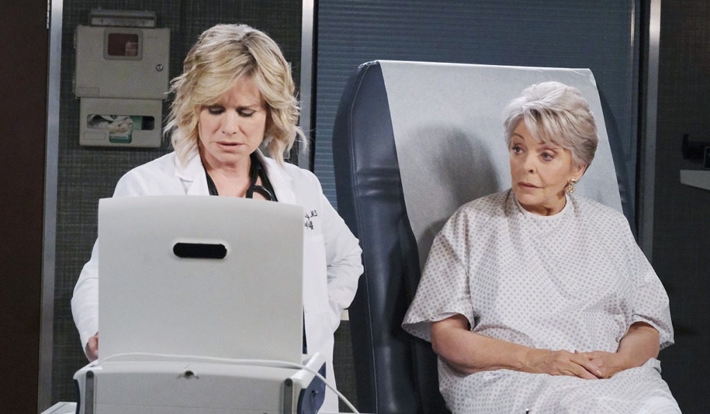 kayla examines julie days of our lives