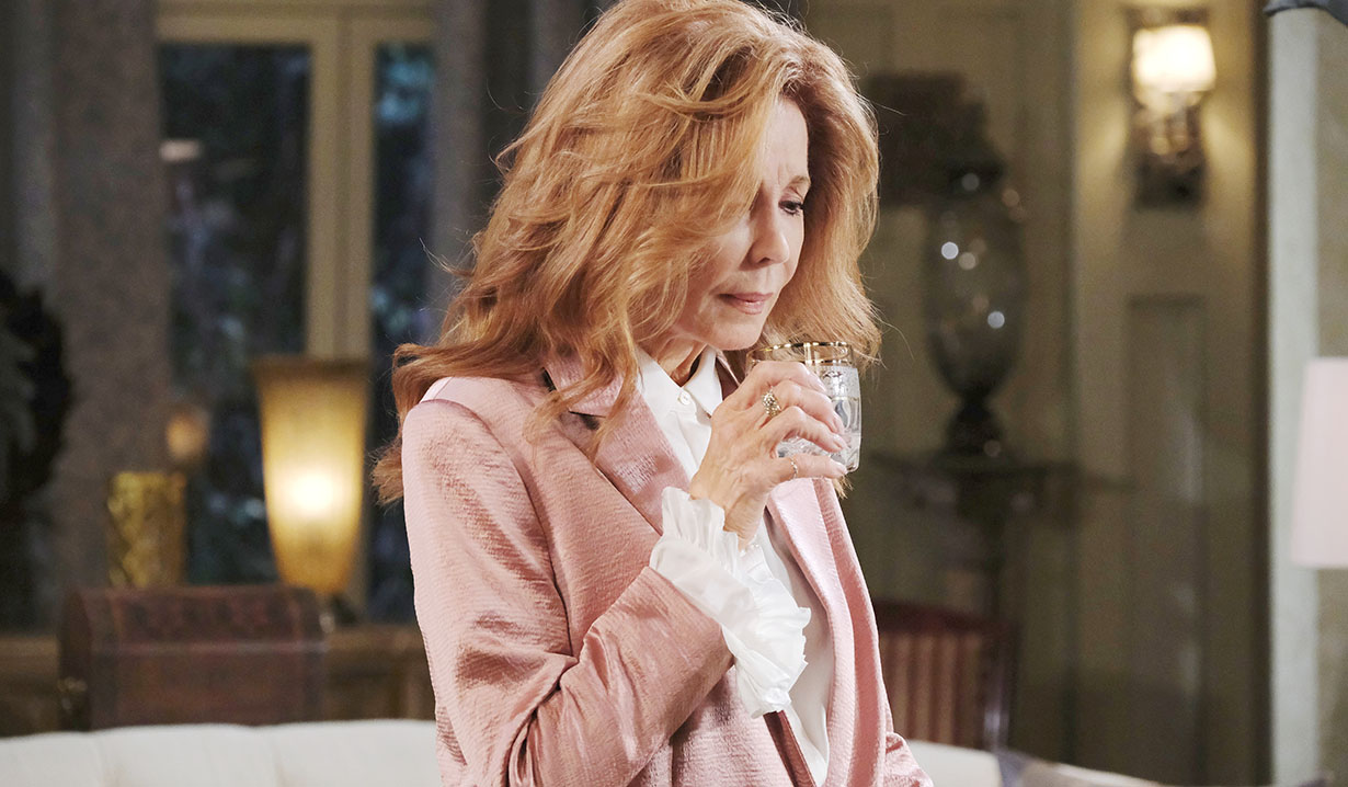 maggie considers getting wasted days of our lives