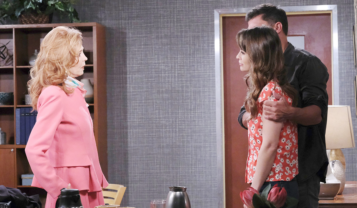 sarah, maggie eric bad news about the kid days of our lives