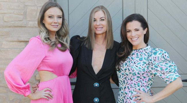 young and restless Melissa ordway Melissa egan Eileen Davidson and others catwalk fashion show