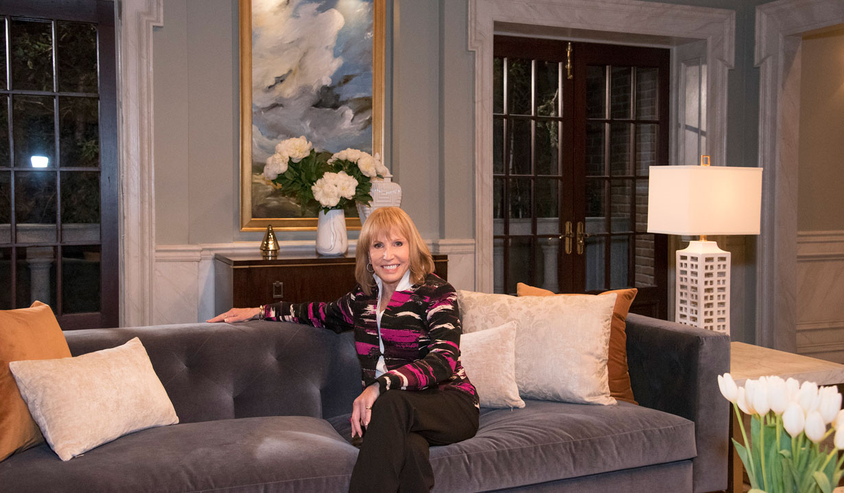 The new Quartermaine living room on General Hospital